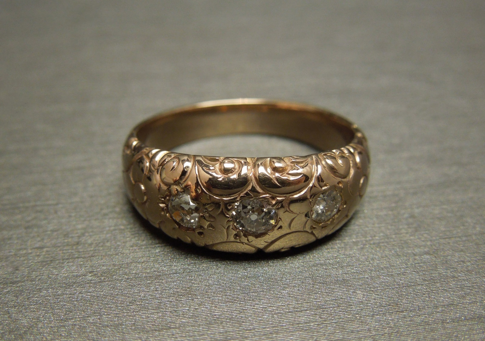 Vintage Baby Ring Gold