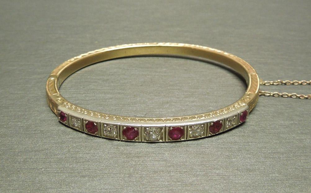 14k 2 35tcw Old European Cut Diamond